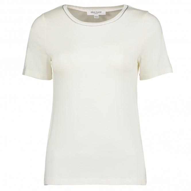 Great Plains Erica Jersey Round Neck Top-Rose Gold-Fi&Co Boutique