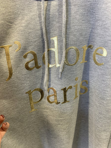 Inseason J'adore Paris Tracksuit-Grey-Fi&Co Boutique