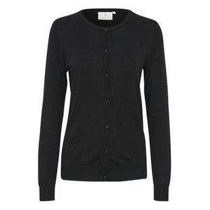 Kaffe Astrid O-Cardigan-Black Deep-Fi&Co Boutique