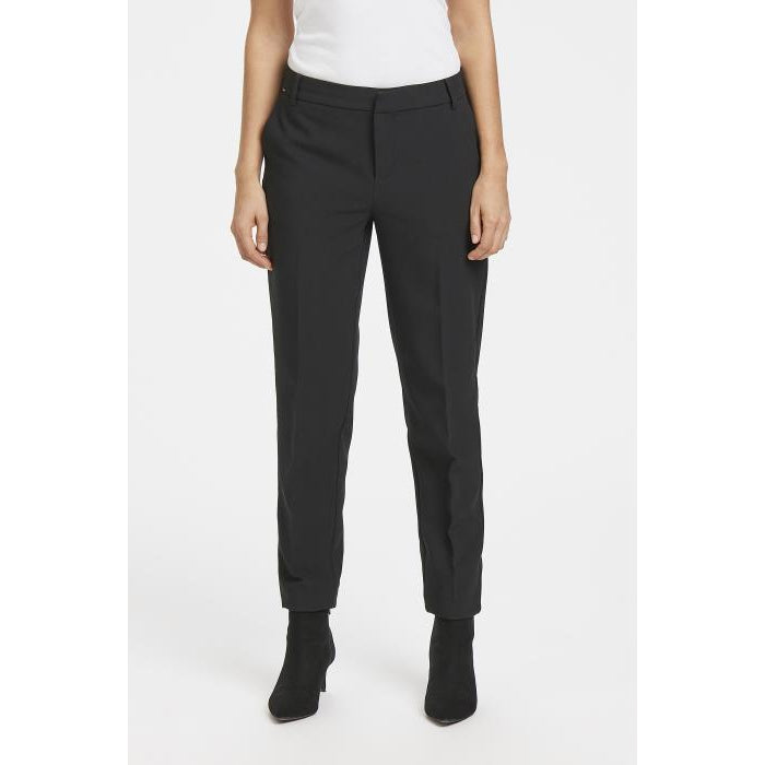 Part Two Clea Pants-Black Above Ankle-Fi&Co Boutique