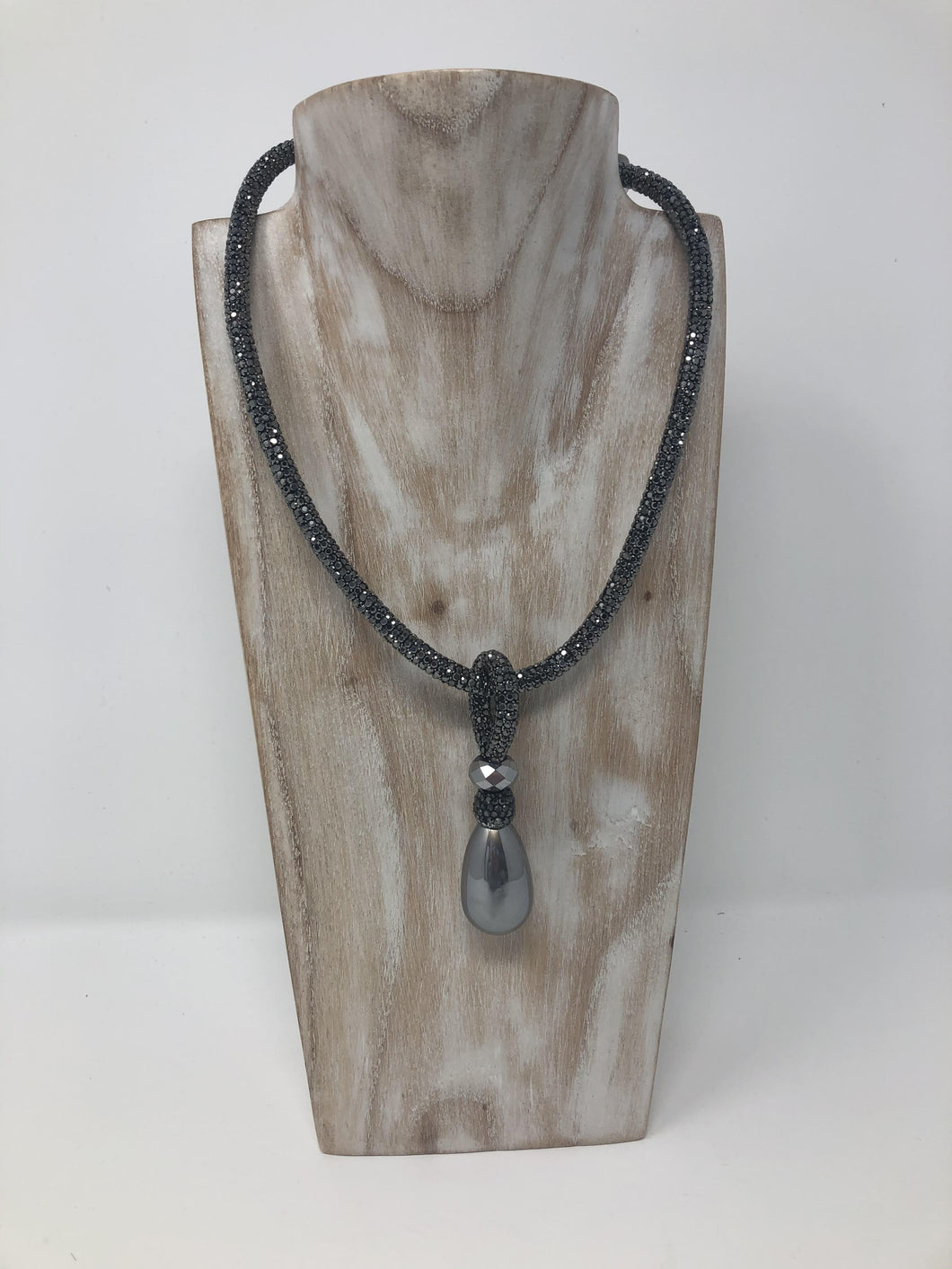 Silver Chunky Necklace-Fi&Co Boutique