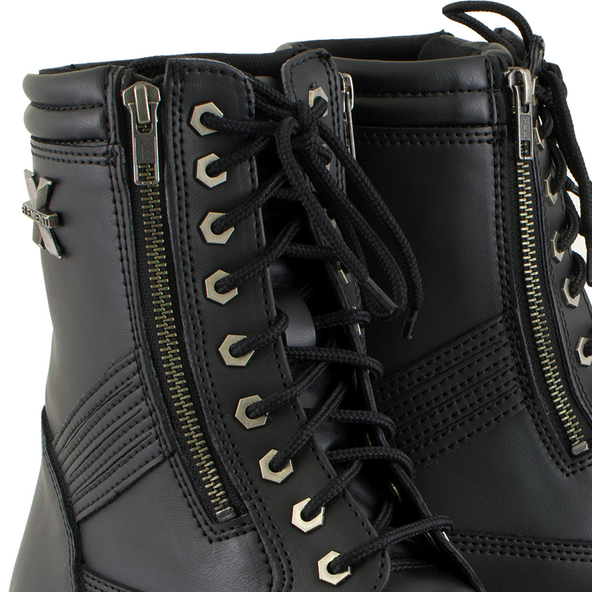 Xelement 1506 'Impact' Men's Black Motorcycle Biker Boots