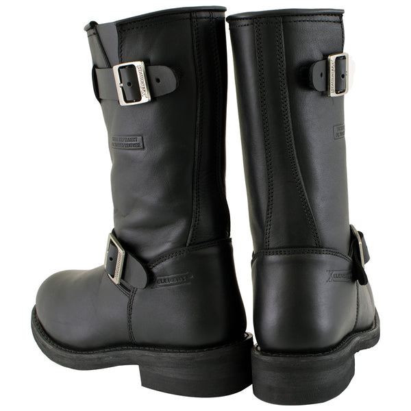 Xelement 2440 'Classic' Women's Black Advanced Engineer Motorcycle Biker Boots