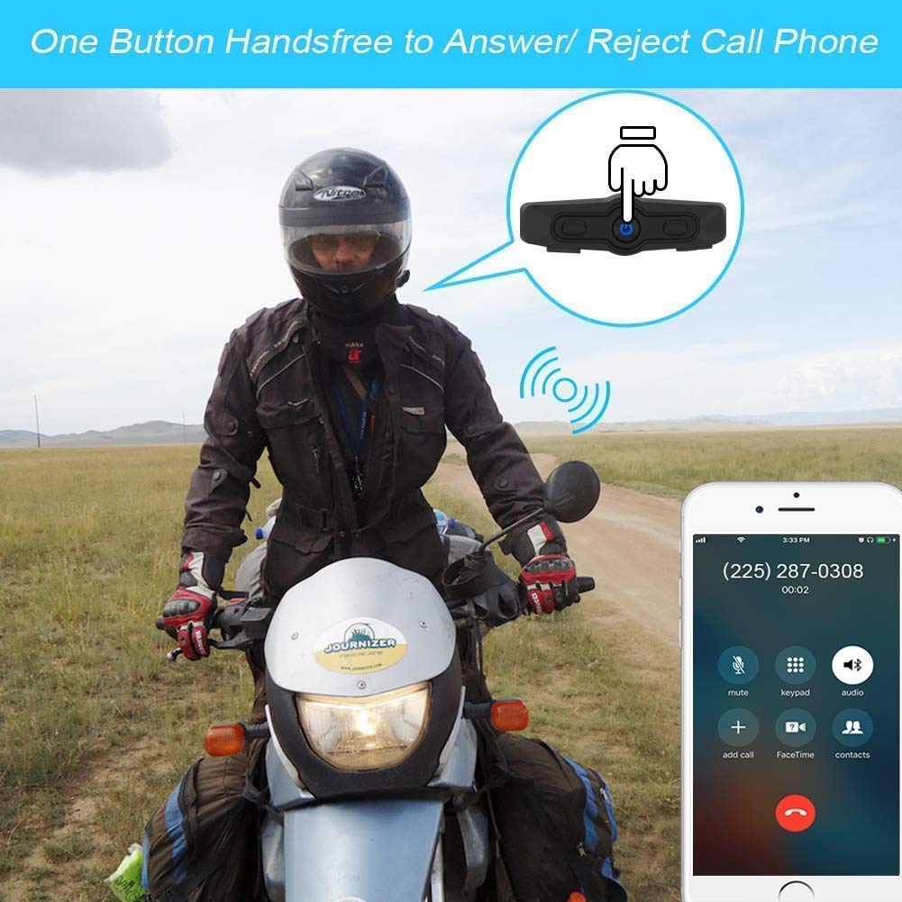 Hawk X3 Bluetooth Motorcycle Headset Motorcycle Helmet Intercom System