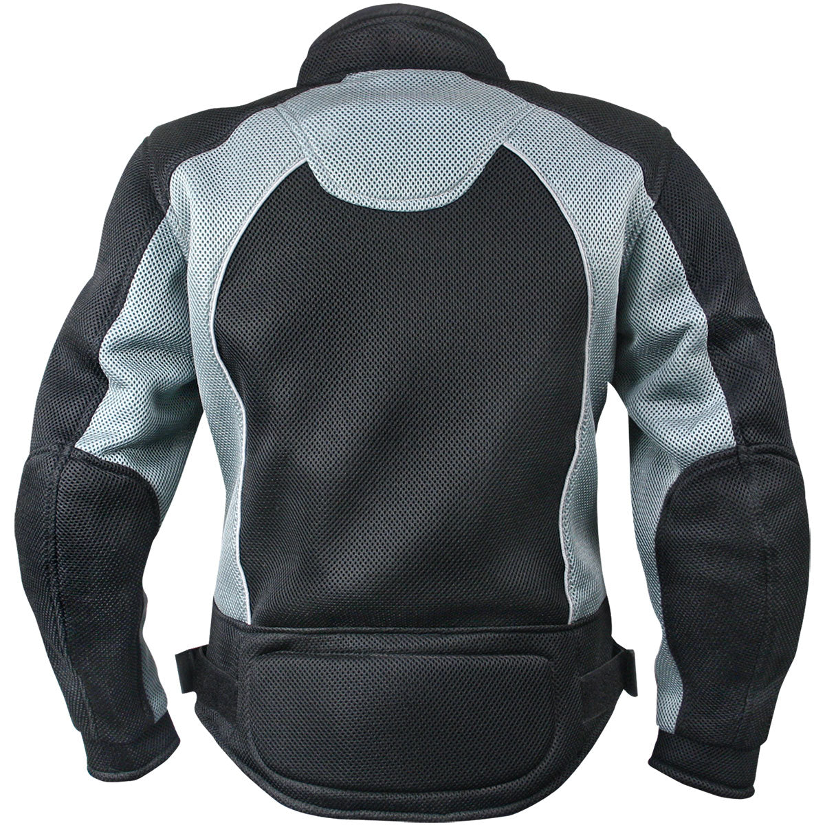Xelement CF507 Women's 'Guardian' Black and Grey Mesh Jacket with