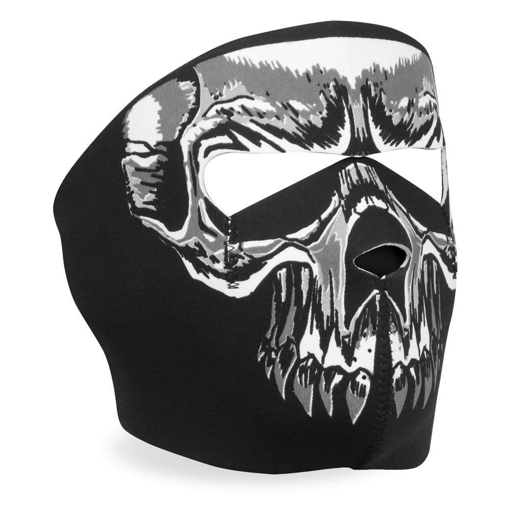 Hot Leathers FMA1003 Evil Skull Neoprene Face Mask