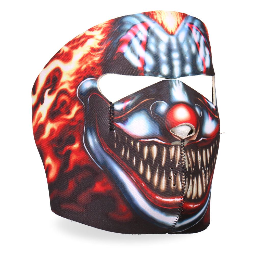 Hot Leathers FMA1023 Smoking Clown Neoprene Face Mask