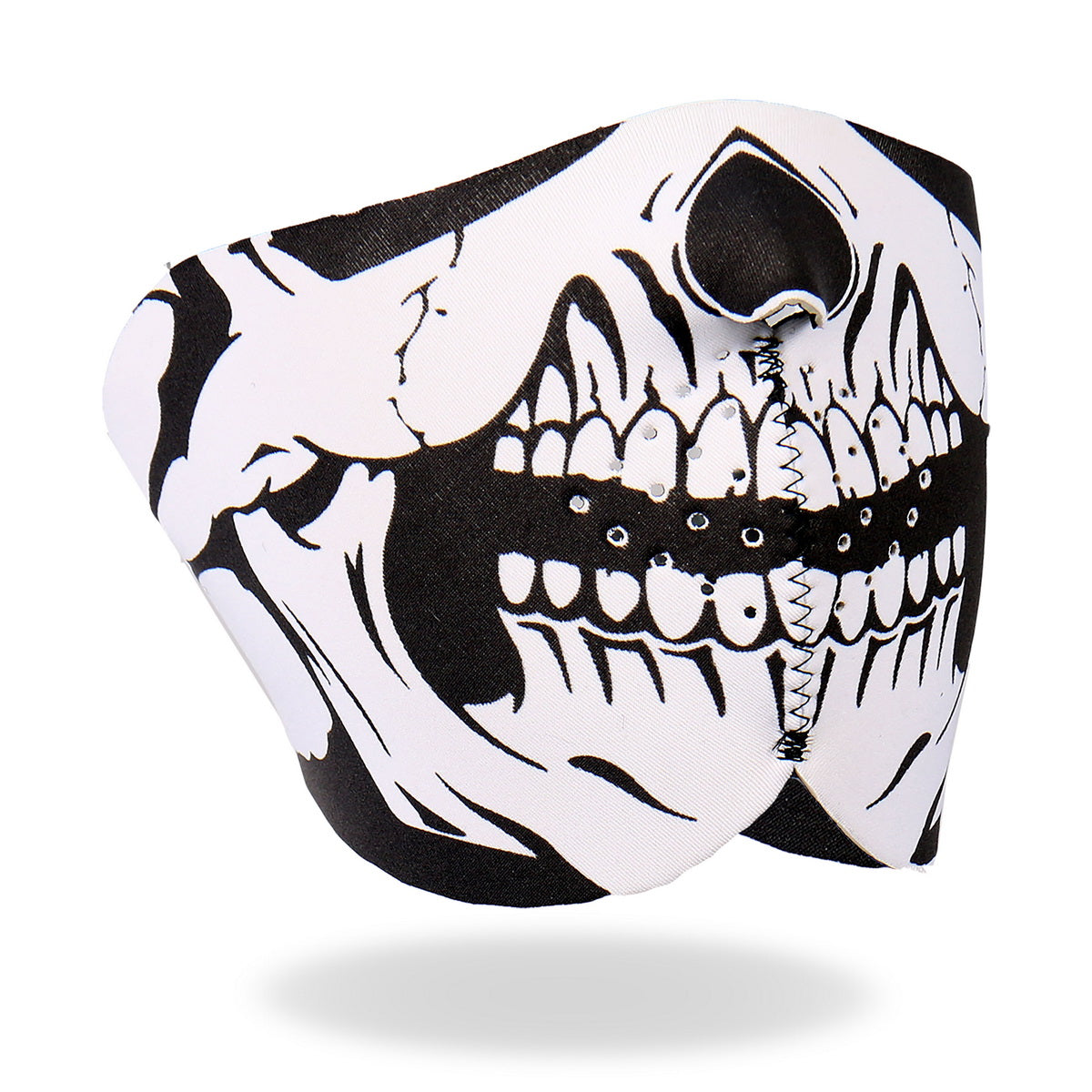 Hot Leathers FMB1002  Neoprene Skull 1/2 Mask
