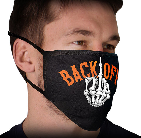 Milwaukee FMD1015 Men's 'The Flip' 100 % Cotton Protective Face Mask with Optional Filter Pocket