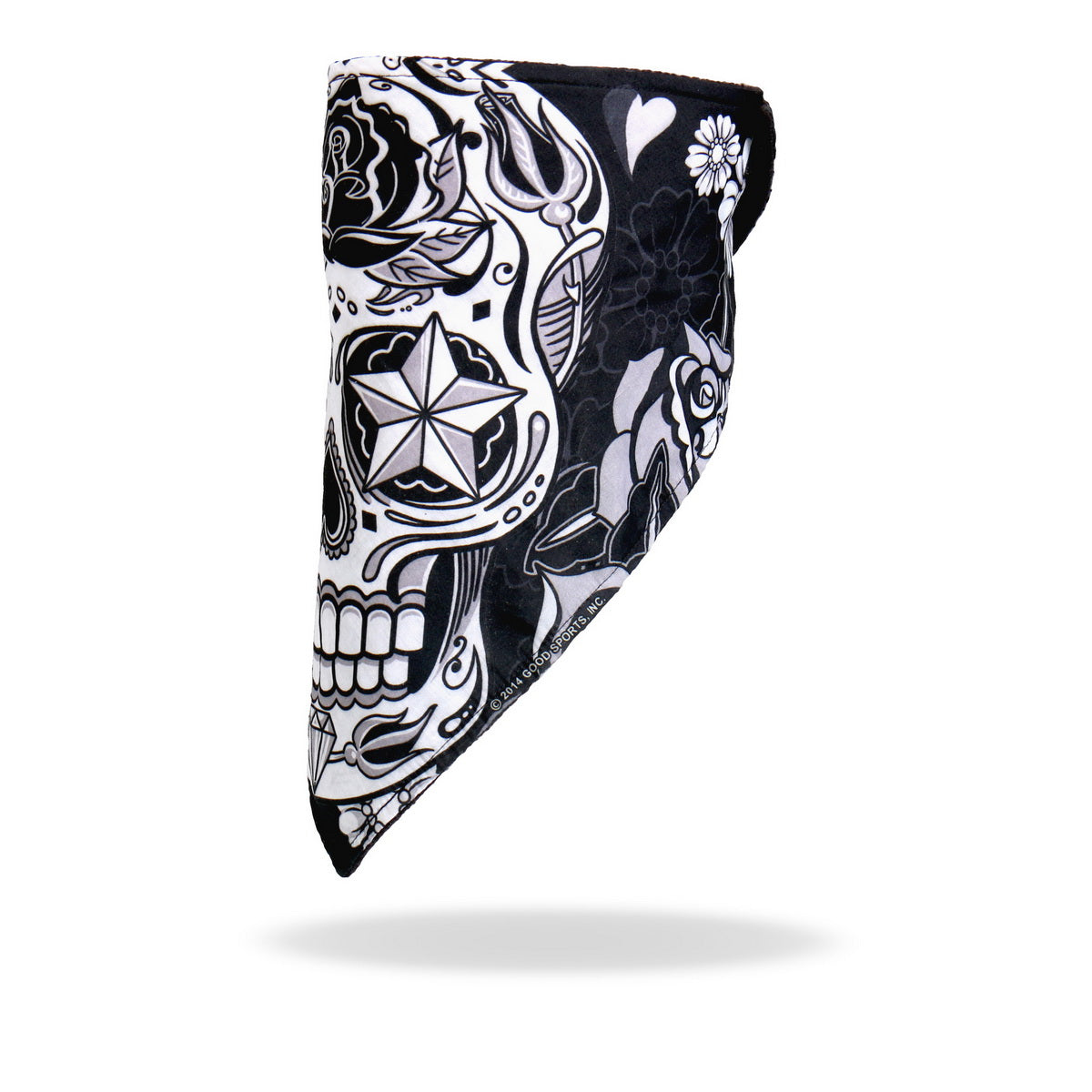 Hot Leathers FWC1002 Sugar Skull Face Wrap Neck Warmer