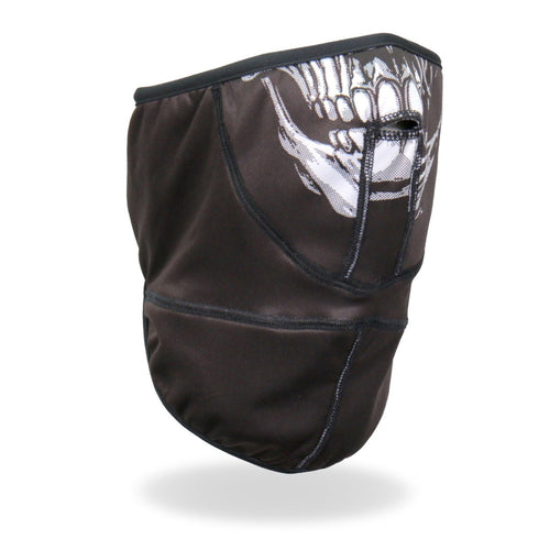 Hot Leathers FWC2008 Skull Face Wrap Neck Warmer