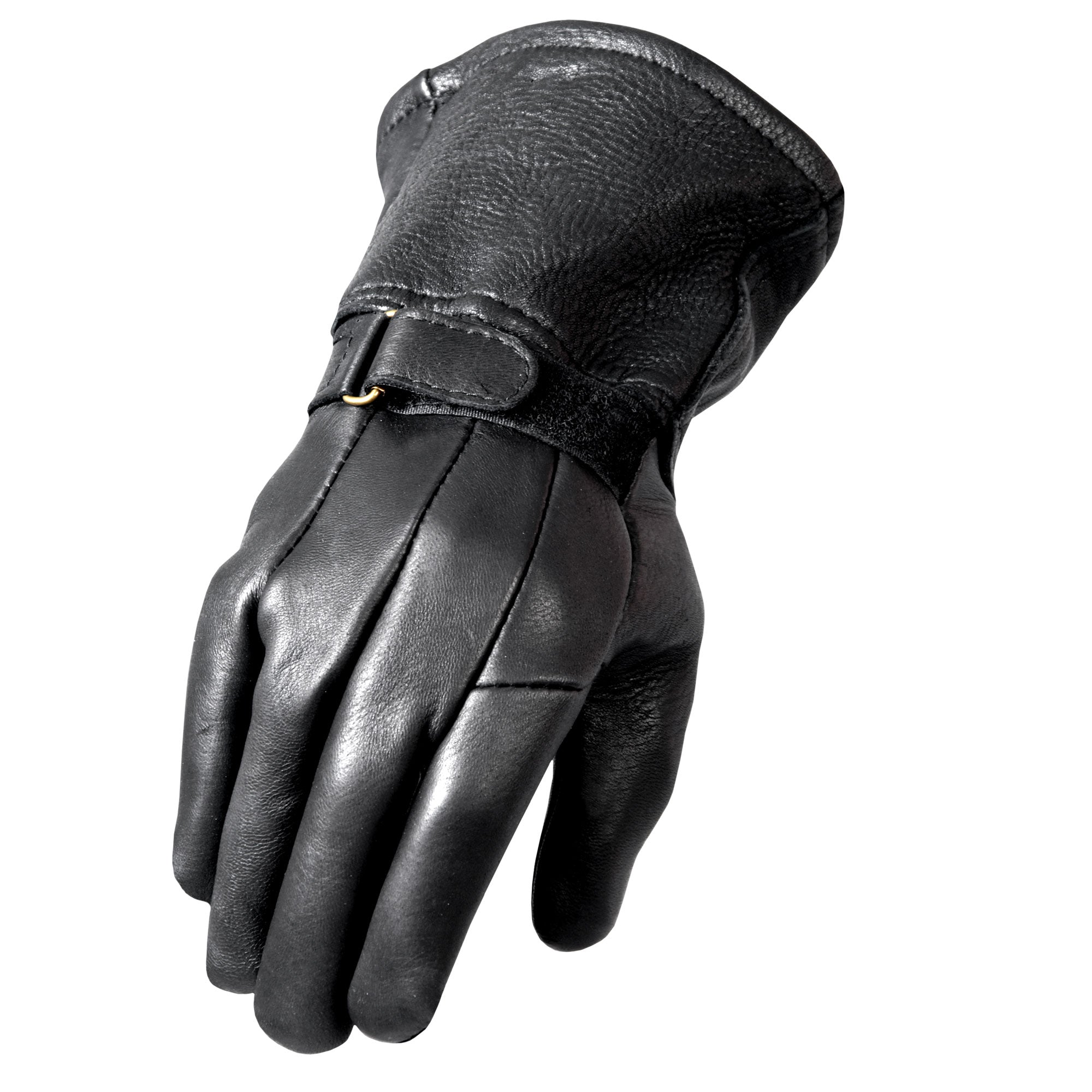Hot Leathers GVD1003 Classic Deerskin Thinsulate Lining Gauntlet Glove