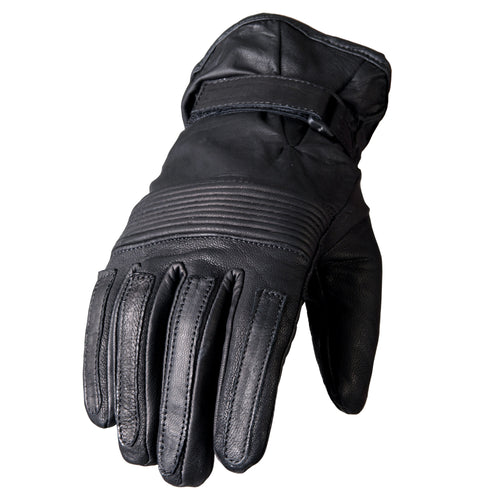 Hot Leathers GVM1002 Ribbed Knuckles Unlined Leather Glove