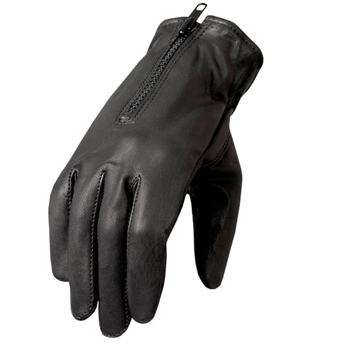 Hot Leathers GVM1008 Fleece Lined Leather Glove