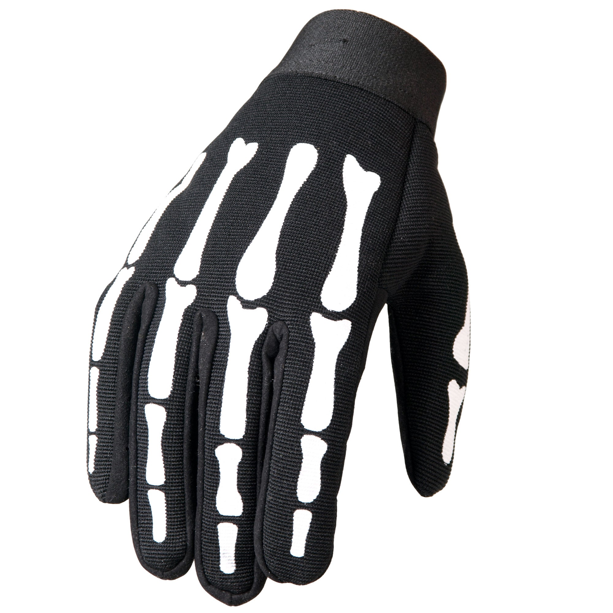 Hot Leathers GVM2007 Skeleton Mechanics Gloves