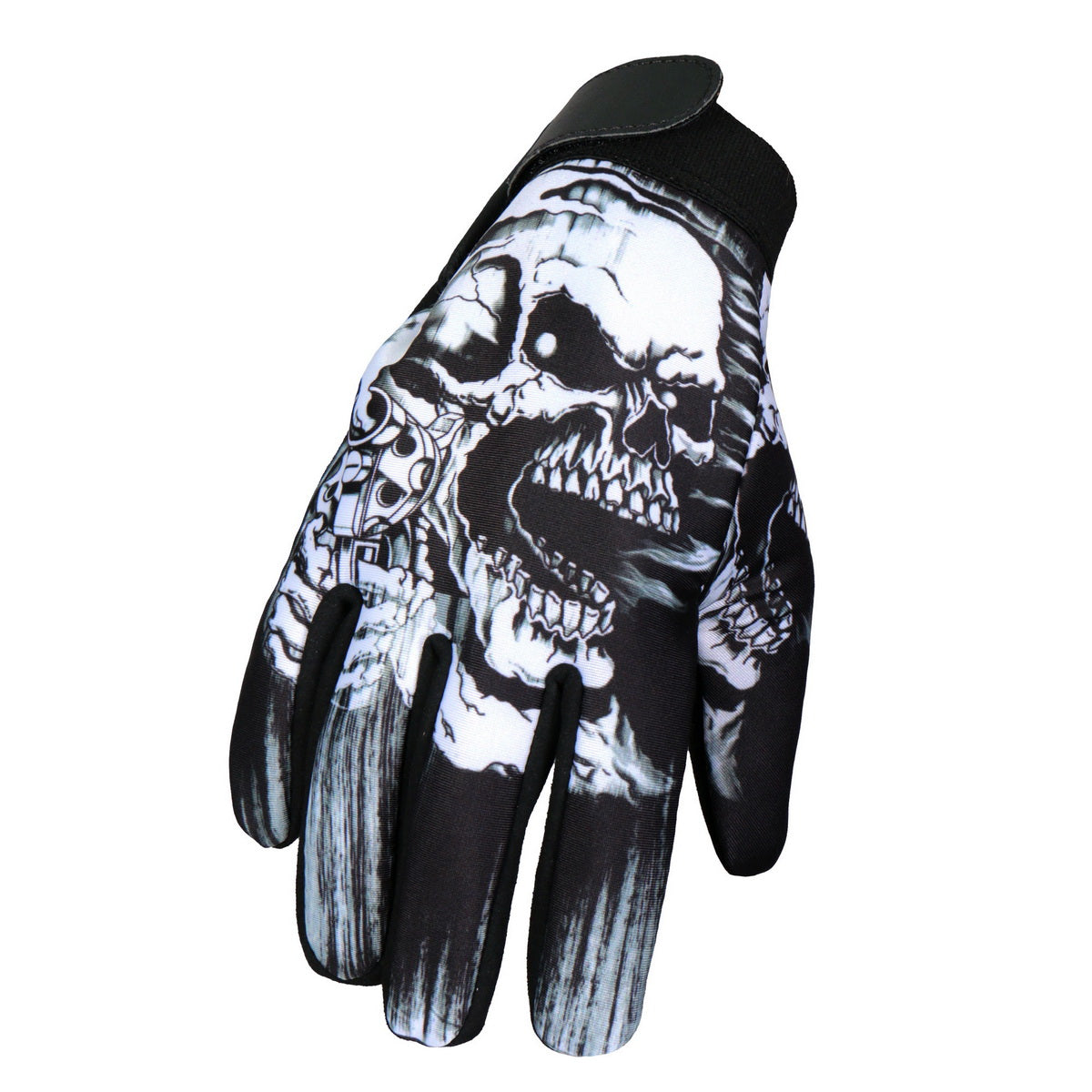 Hot Leathers GVM3004 Assassin Mechanics Glove