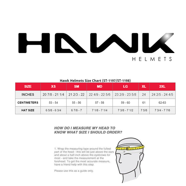 Hawk ST 1198 'Transition' 2 in 1 Glossy Black Modular Motorcycle Helmet