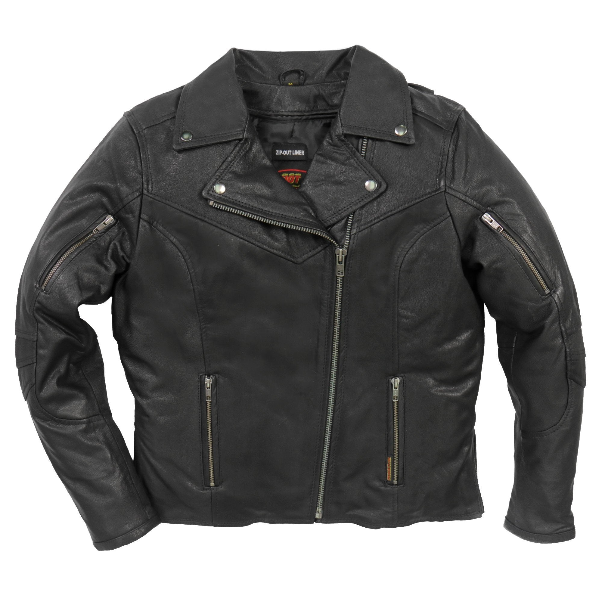 Hot Leathers JKL1029 Ladies Leather Carry Conceal Jacket with Vents