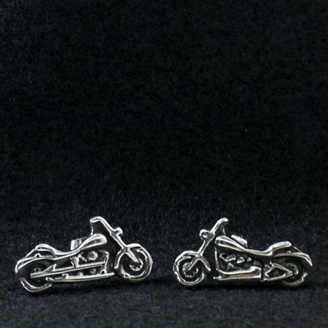 Hot Leathers JWE2101 Motorcycle Post Earrings