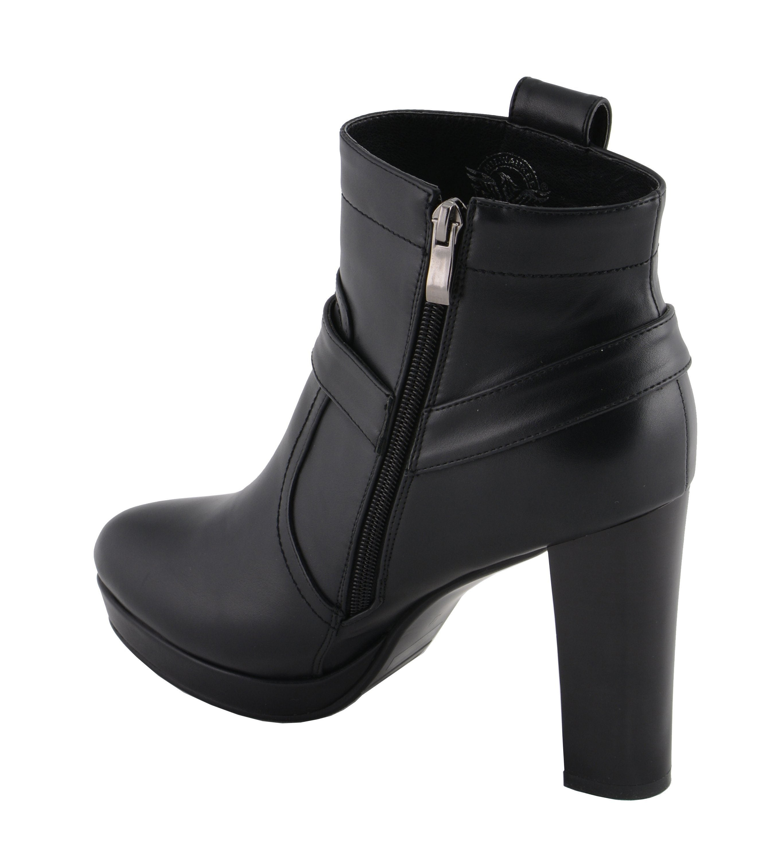 Milwaukee Performance MBL9432 Womens Black Harness Ankle Boot with