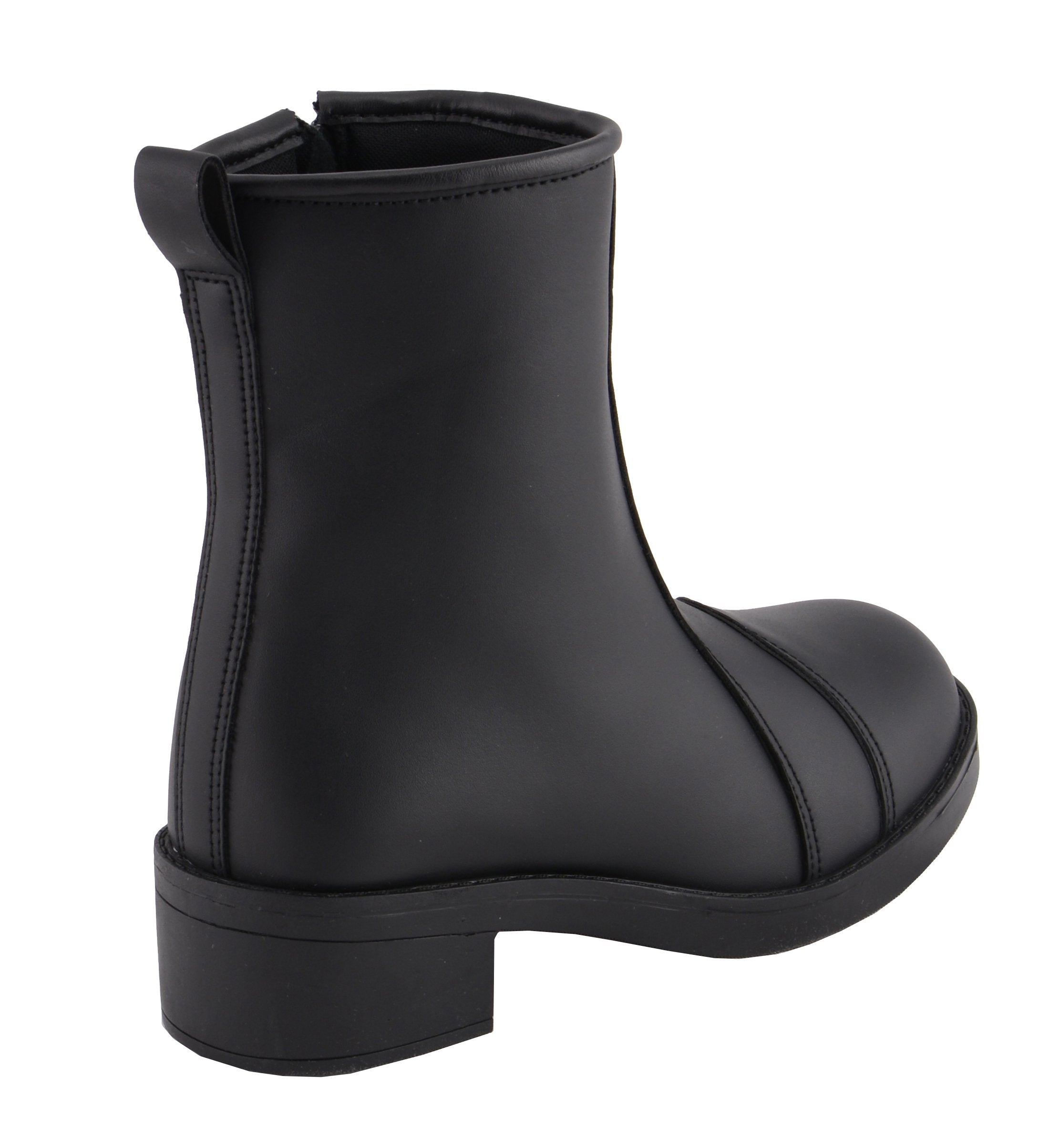 Milwaukee Leather MBL9485 Ladies Clean Riding Boot with Toe Cap