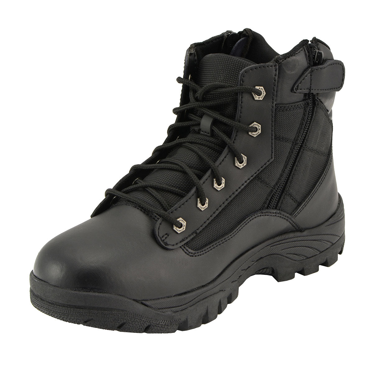 Milwaukee Leather MBM9011 Mens 6 inch Leather Tactical Lace-Up Boots