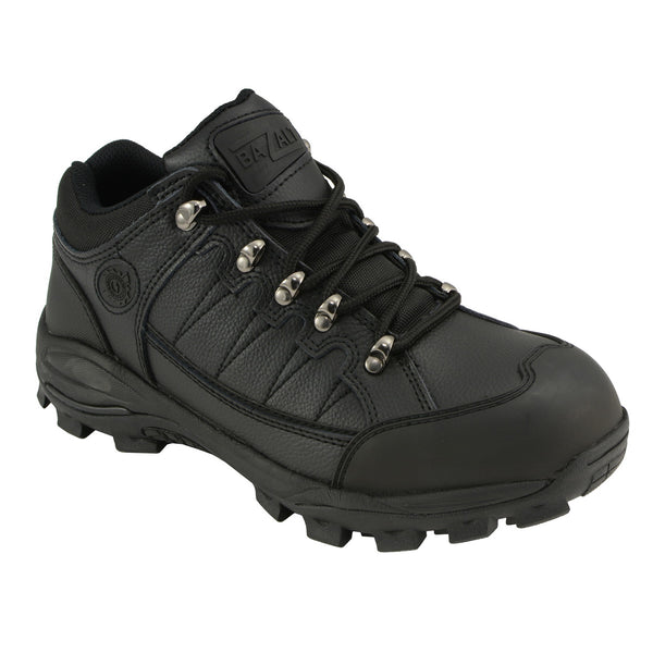 Bazalt MBM9126 Men's Black Water and Frost Proof Leather Outdoor