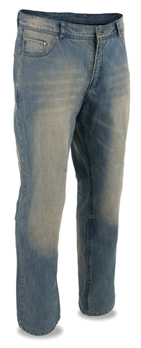 Milwaukee Performance MDM5003 Men's Blue Armored Denim Jeans Reinforced with Aramid by DuPont Fibers