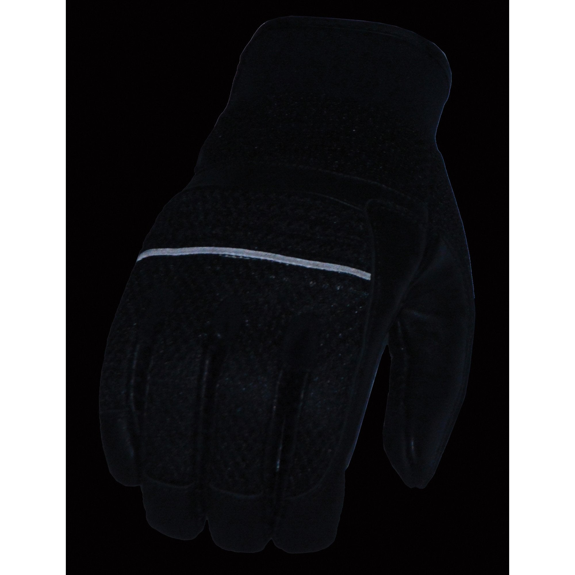 Milwaukee Leather MG7503 Men's 'Touch Screen Fingers' Black Leather