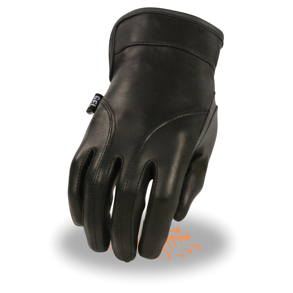 Milwaukee Leather MG7700 Ladies Black Lightweight Leather Gloves with