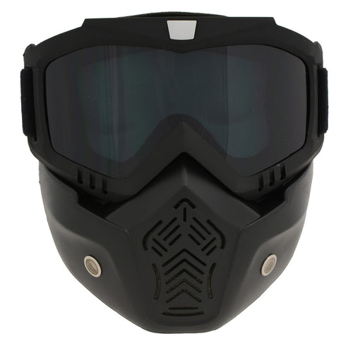 Milwaukee Performance MP7921FM 'Drift' Full Face Mask with Goggles and Detachable Muffle