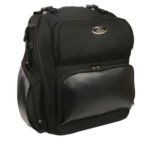Milwaukee Performance MP8112 Black Large Textile Luggage Sissy Bar Bag