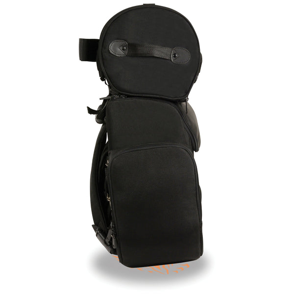 Milwaukee Performance MP8122 Black Large Textile Two Piece Deluxe Sissy Bar Bag