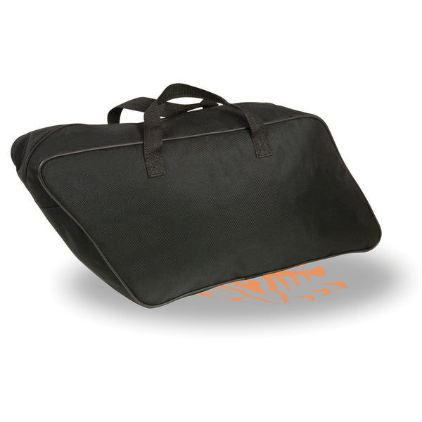 Milwaukee Performance MP8140 Black Large Textile Slant Saddlebags