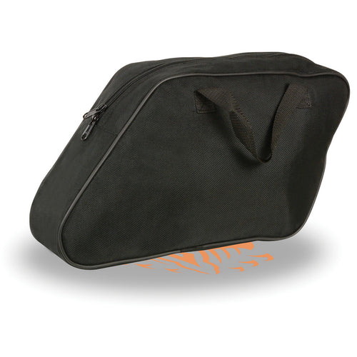 Milwaukee Performance MP8150 Black Textile Slant Saddlebags Inside Liner