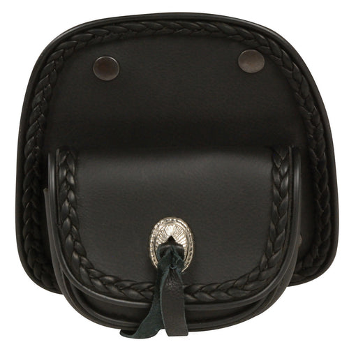 Milwaukee Performance MP8500 Black PVC Small Braided Handle Bar Bag