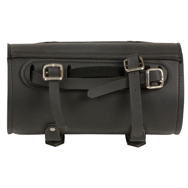Milwaukee Leather Performance MP8520 Black Small PVC Tool Bag with Buffalo Nickel Snaps