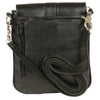 Milwaukee Leather MP8805 Women's Black Small Leather Studded Shoulder