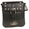 Milwaukee Leather MP8805 Women's Black Small Leather Studded Shoulder Bag