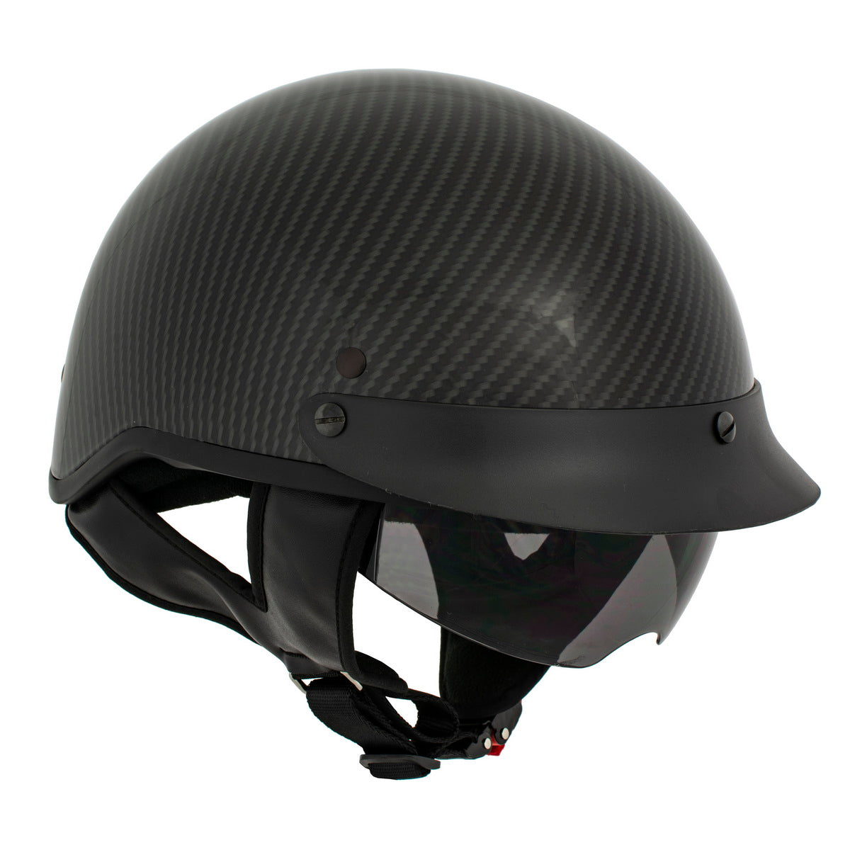 Milwaukee Performance Helmet MPH9723DOT Glossy Black DOT Helmet with