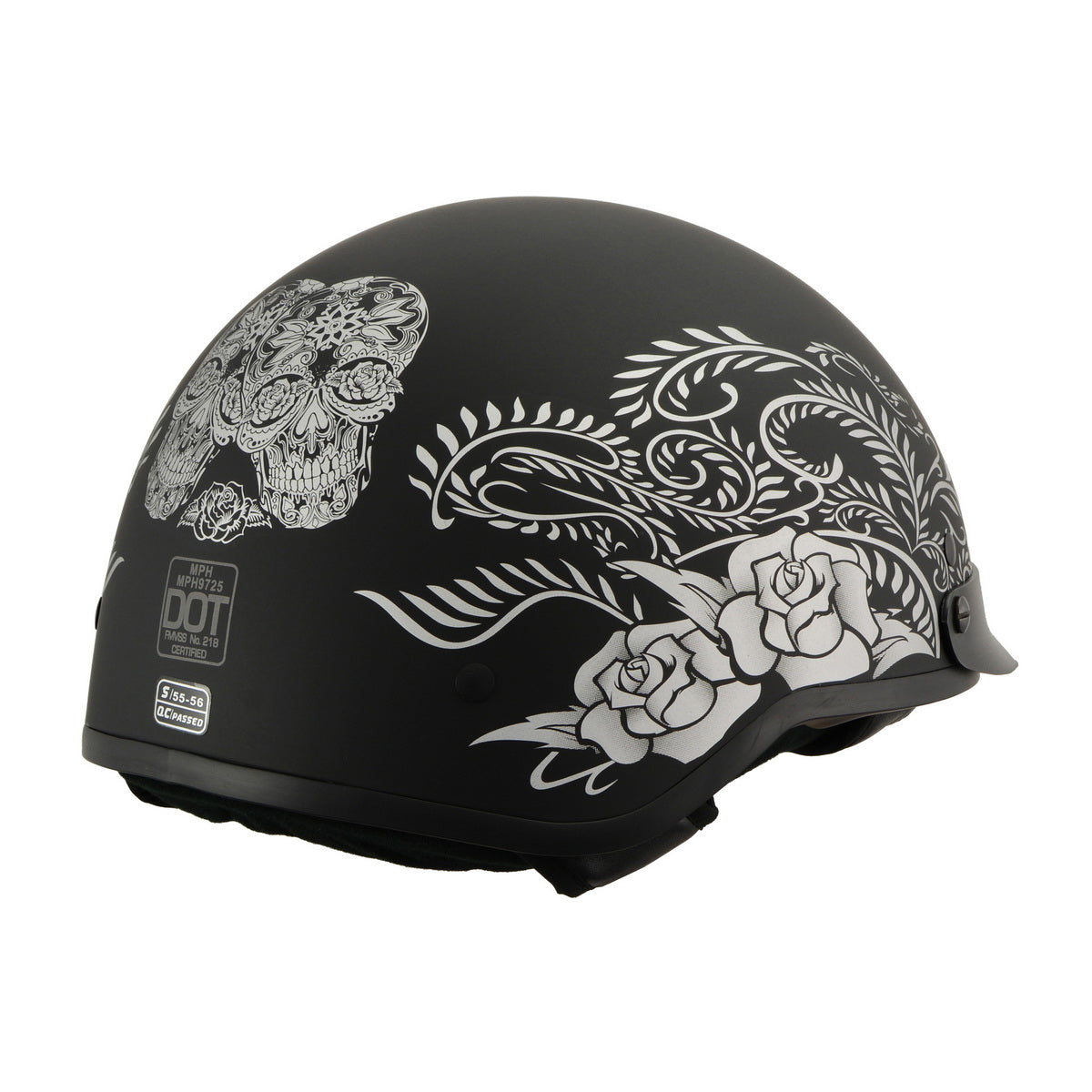 Milwaukee Performance Helmet MPH9725DOT Matte Black DOT Helmet with