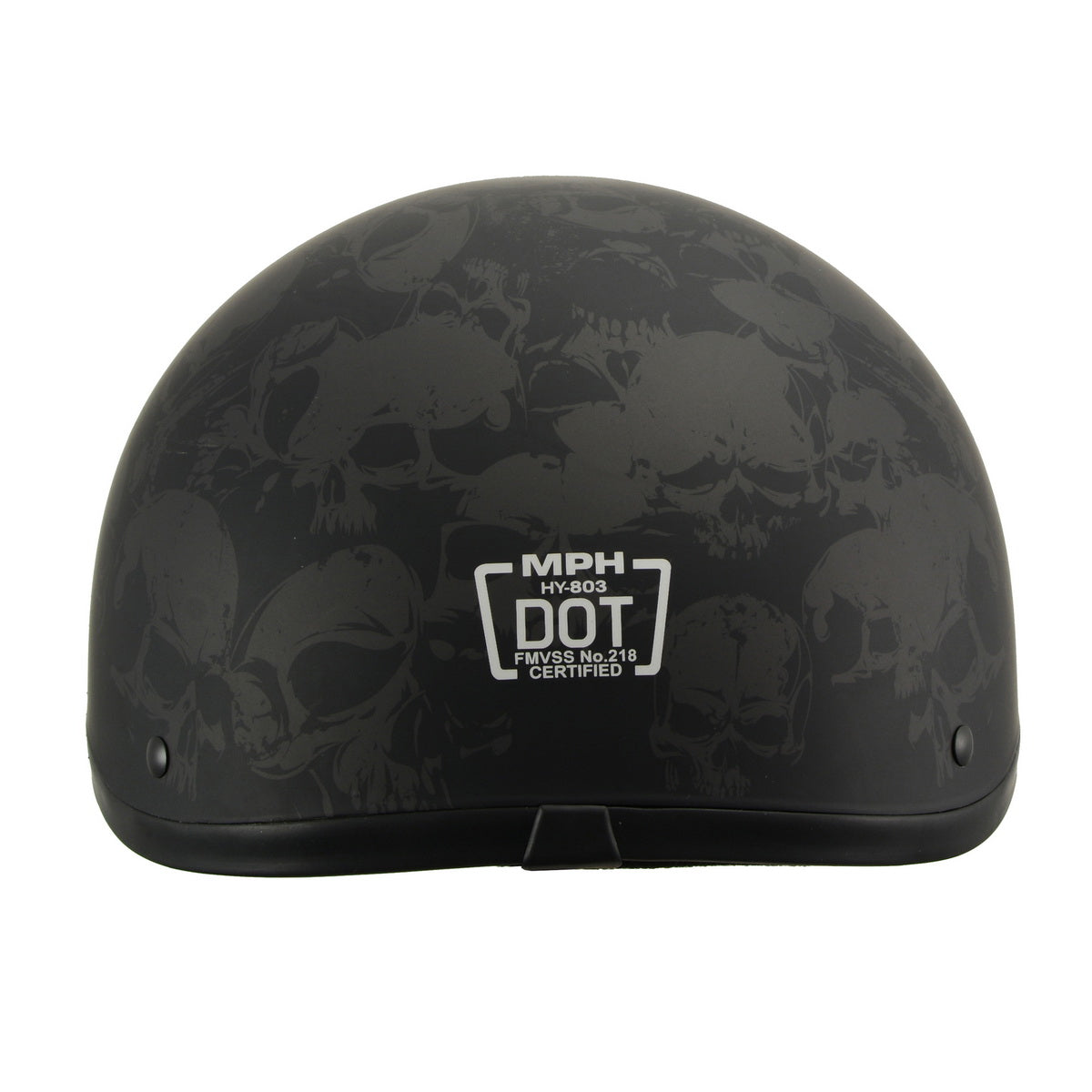 Milwaukee Performance Helmet MPH9771DOT Americas Smallest Matte Black