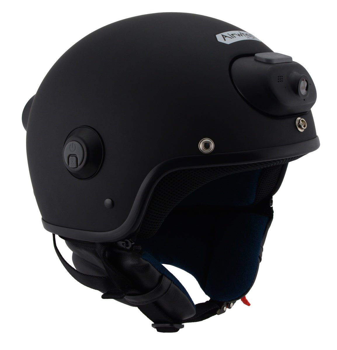 Milwaukee Performance Helmet MPH9802DOT 'Vision' Open Face Matte Black