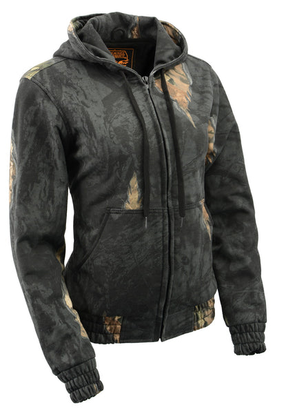 Milwaukee Performance MPL2779 Ladies Mossy Oak Eclipse Zipper Front Hoodie