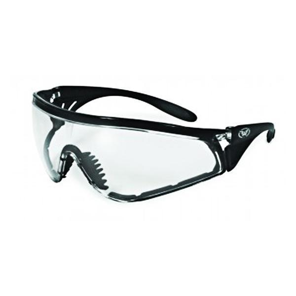 Global Vision Python Clear Lens Sunglasses