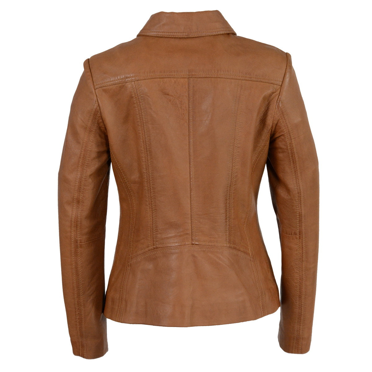 Milwaukee Leather SFL2850 Women's Saddle Leather Jacket with Shirt