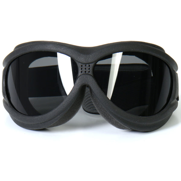 Hot Leathers SGG1001 Big Ben Riding Goggles with Smoke Lenses