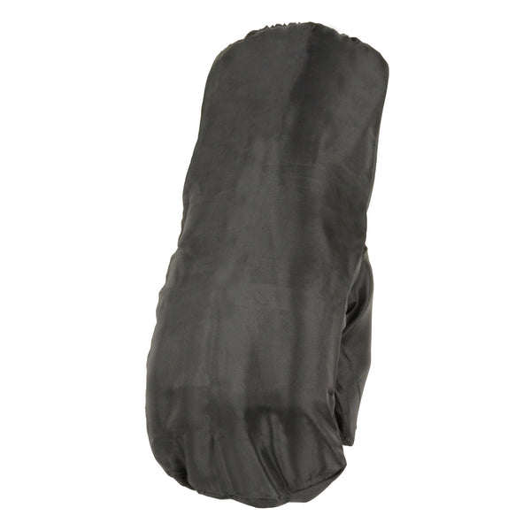Milwaukee Leather SH230 Men's Black Leather Gauntlet Gloves with Rain