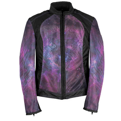 NexGen SH2384 Ladies Cosmic Mesh and Textile Combo Jacket