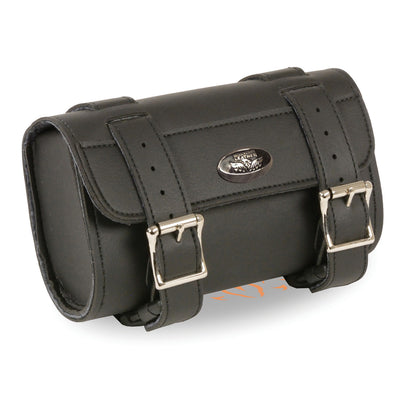 Milwaukee Performance SH49805 Black PVC Small Two Buckle Studded Tool Bag with Quick Release